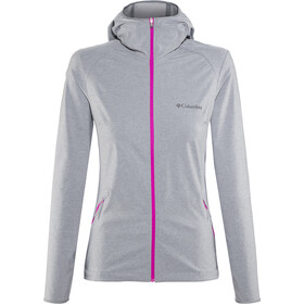 Columbia Heather Canyon Chaqueta Softshell Mujer, grey ash heather